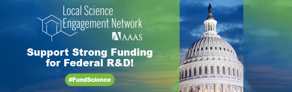 Join LSEN to help #FundScience