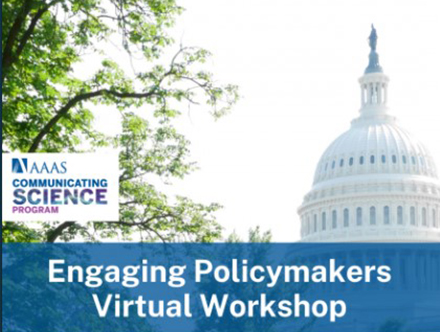 Engaging Policymakers Virtual Workshop