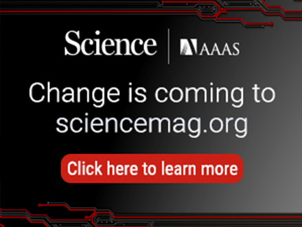 new Science website
